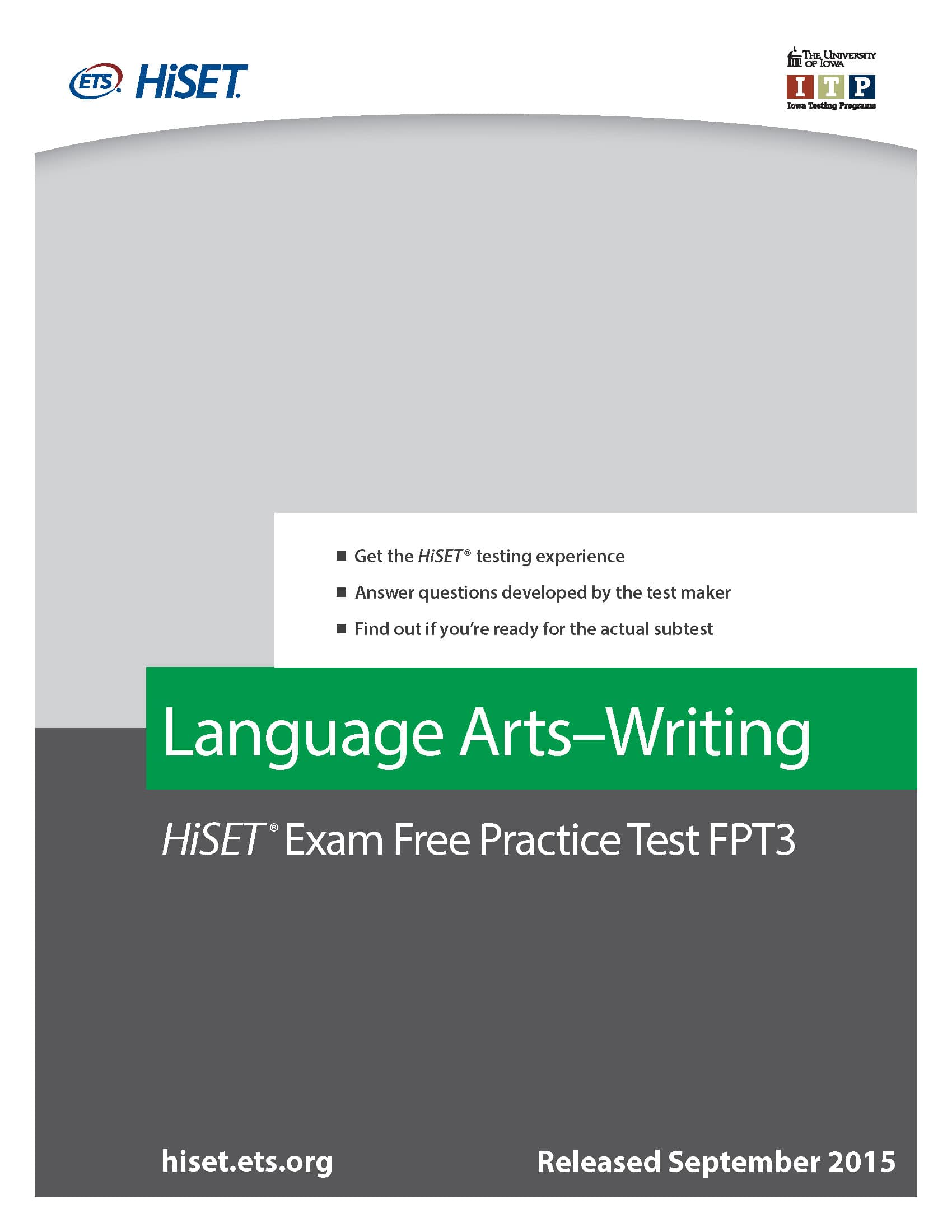 ged writing practice test